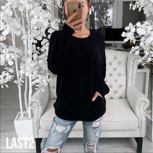 CREW— in Black